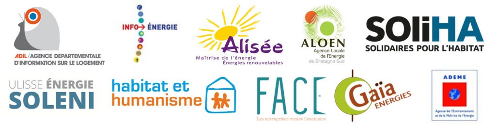 Logo références clients réseaux de conseils économie d'énergie